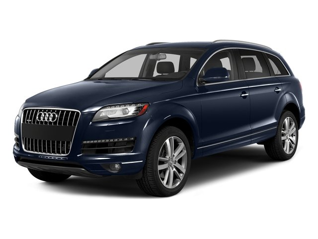 Atlantis Blue Metallic 2015 Audi Q7 Pictures Q7 Utility 4D 3.0 Premium AWD photos front view