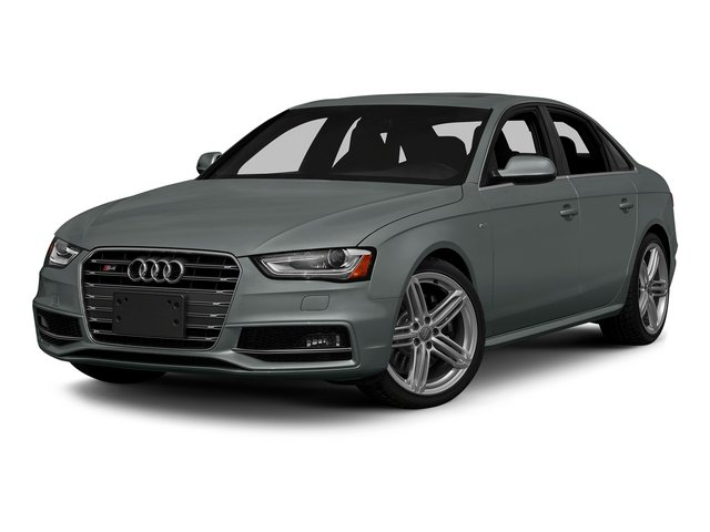Monsoon Gray Metallic 2015 Audi S4 Pictures S4 Sedan 4D S4 Prestige AWD photos front view