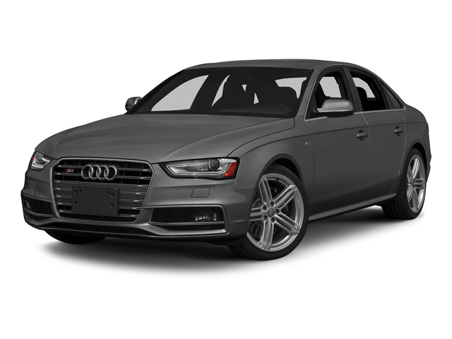 Daytona Gray Pearl Effect 2015 Audi S4 Pictures S4 Sedan 4D S4 Prestige AWD photos front view
