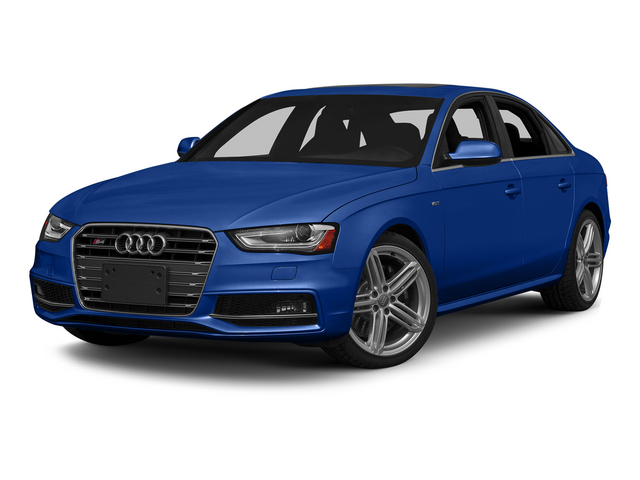 Sepang Blue Pearl Effect 2015 Audi S4 Pictures S4 Sedan 4D S4 Prestige AWD photos front view
