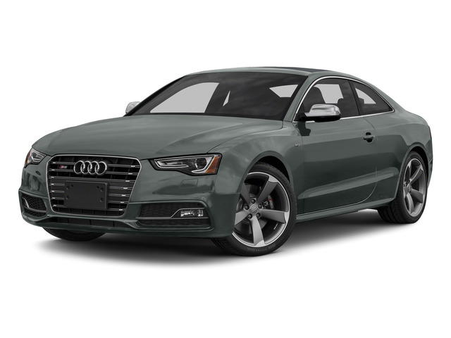 Monsoon Gray Metallic 2015 Audi S5 Pictures S5 Coupe 2D S5 Premium Plus AWD photos front view