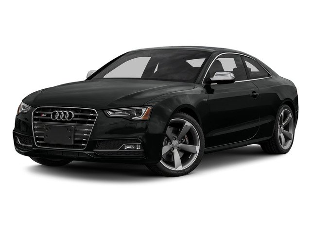 Mythos Black Metallic 2015 Audi S5 Pictures S5 Coupe 2D S5 Premium Plus AWD photos front view