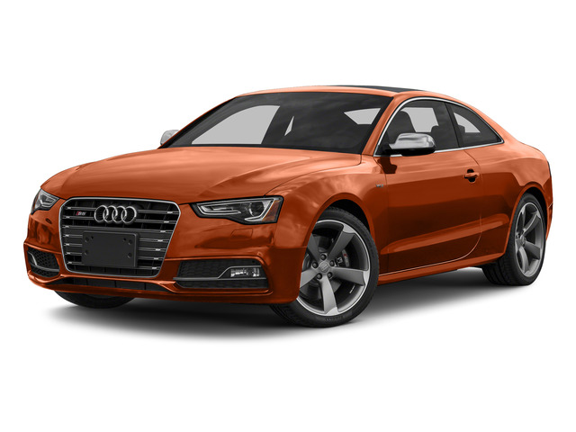Volcano Red Metallic 2015 Audi S5 Pictures S5 Coupe 2D S5 Premium Plus AWD photos front view