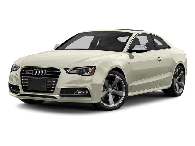 Glacier White Metallic 2015 Audi S5 Pictures S5 Coupe 2D S5 Premium Plus AWD photos front view
