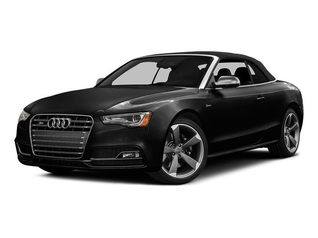 Brilliant Black/Black Roof 2015 Audi S5 Pictures S5 Convertible 2D S5 Prestige AWD photos front view
