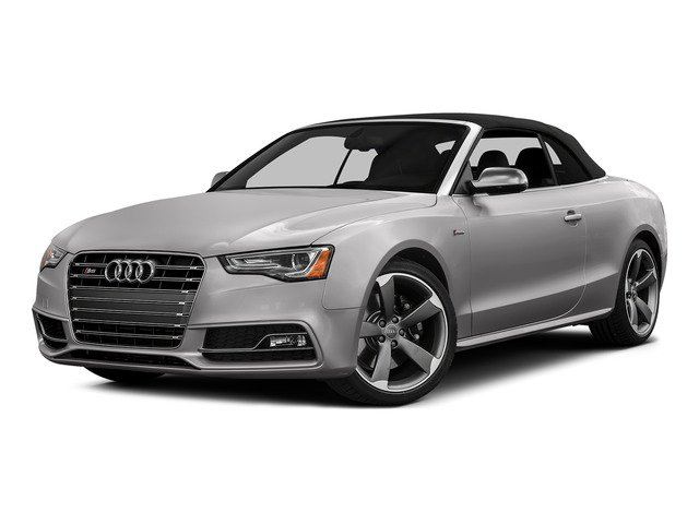 Florett Silver Metallic/Black Roof 2015 Audi S5 Pictures S5 Convertible 2D S5 Prestige AWD photos front view