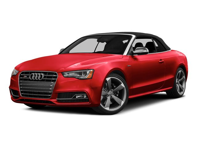 Misano Red Pearl Effect/Black Roof 2015 Audi S5 Pictures S5 Convertible 2D S5 Prestige AWD photos front view