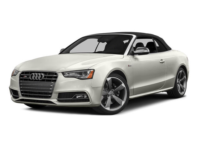 Ibis White/Black Roof 2015 Audi S5 Pictures S5 Convertible 2D S5 Premium Plus AWD photos front view