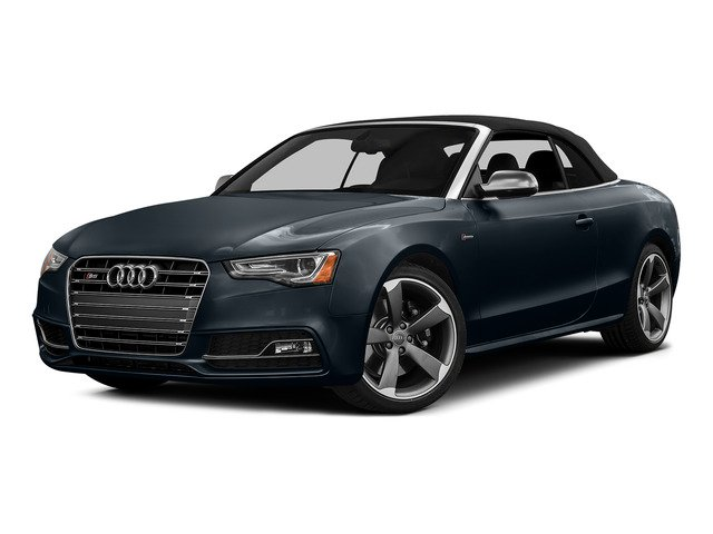 Moonlight Blue Metallic/Black Roof 2015 Audi S5 Pictures S5 Convertible 2D S5 Prestige AWD photos front view