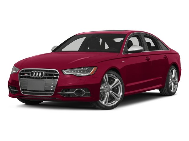Garnet Red Pearl Effect 2015 Audi S6 Pictures S6 Sedan 4D S6 Prestige AWD photos front view
