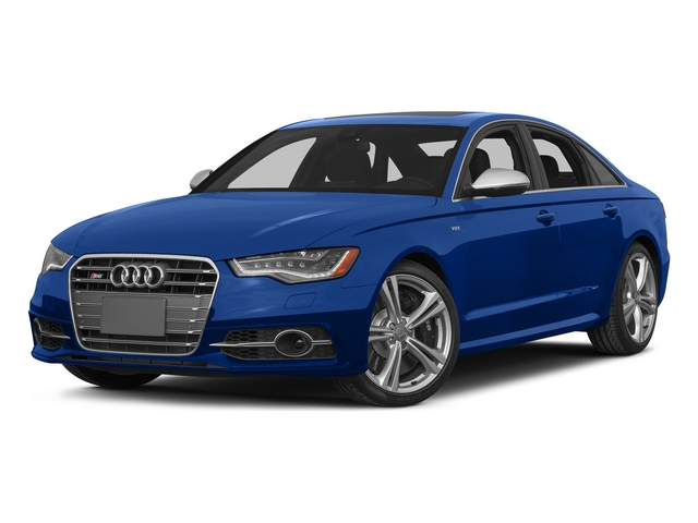 Sepang Blue Pearl Effect/Mugello Blue 2015 Audi S6 Pictures S6 Sedan 4D S6 Prestige AWD photos front view