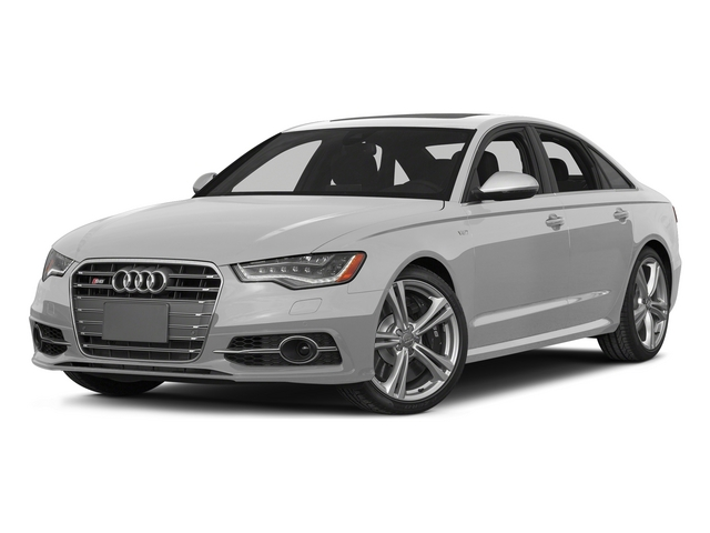 Ice Silver Metallic 2015 Audi S6 Pictures S6 Sedan 4D S6 Prestige AWD photos front view