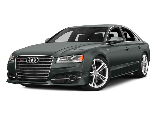 Monsoon Gray Metallic 2015 Audi S8 Pictures S8 Sedan 4D S8 AWD V8 Turbo photos front view