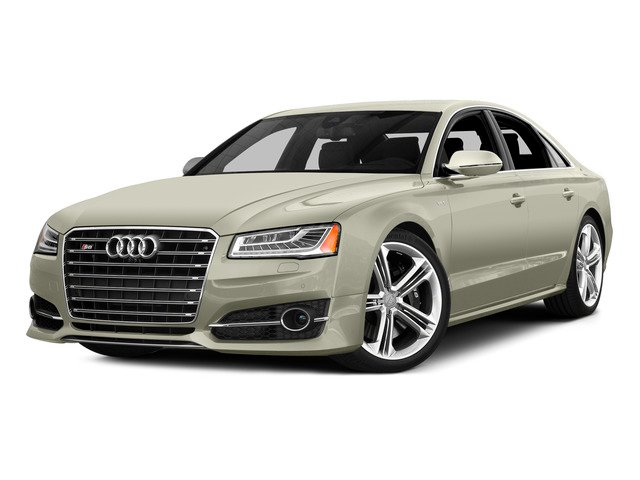 Glacier White Metallic 2015 Audi S8 Pictures S8 Sedan 4D S8 AWD V8 Turbo photos front view