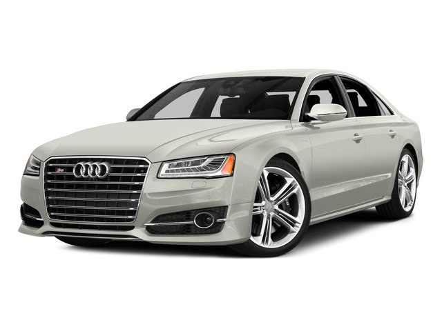 Ibis White 2015 Audi S8 Pictures S8 Sedan 4D S8 AWD V8 Turbo photos front view
