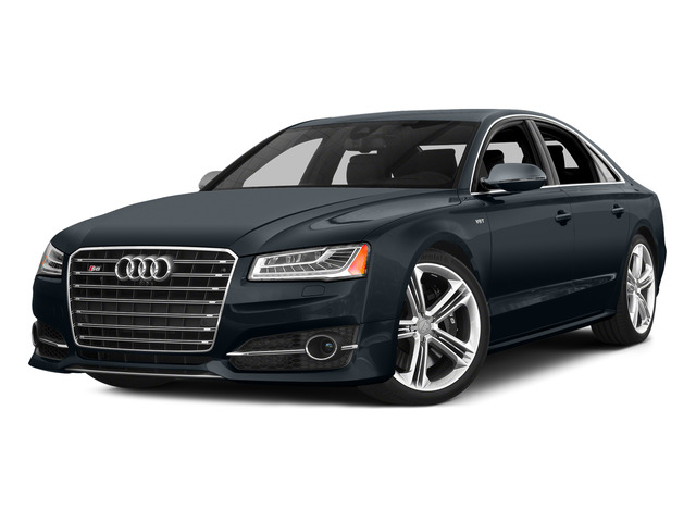 Moonlight Blue Metallic 2015 Audi S8 Pictures S8 Sedan 4D S8 AWD V8 Turbo photos front view