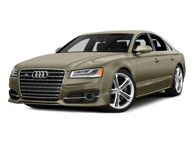 Argus Brown Metallic 2015 Audi S8 Pictures S8 Sedan 4D S8 AWD V8 Turbo photos front view