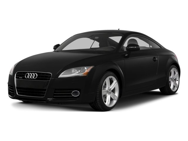 Phantom Black Pearl Effect 2015 Audi TT Pictures TT Coupe 2D AWD photos front view