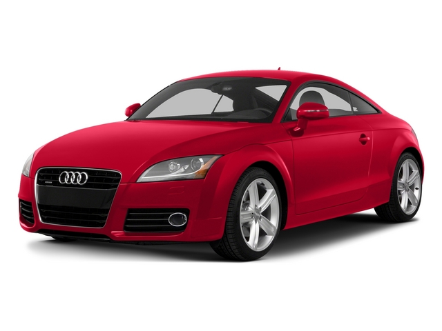 Misano Red Pearl Effect 2015 Audi TT Pictures TT Coupe 2D AWD photos front view