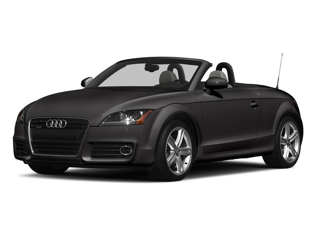 Oolong Gray Metallic/Black Roof 2015 Audi TT Pictures TT Roadster 2D AWD photos front view