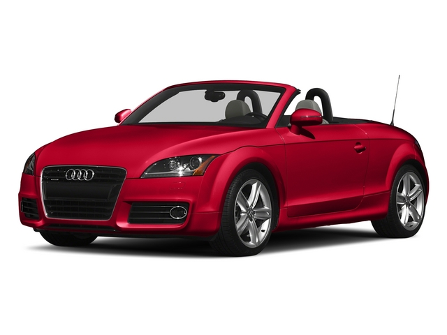 Misano Red Pearl Effect/Black Roof 2015 Audi TT Pictures TT Roadster 2D AWD photos front view
