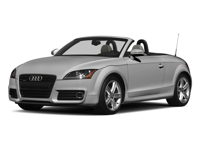 Ice Silver Metallic/Black Roof 2015 Audi TT Pictures TT Roadster 2D AWD photos front view