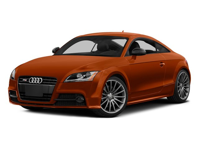 Volcano Red Metallic 2015 Audi TTS Pictures TTS Coupe 2D AWD photos front view