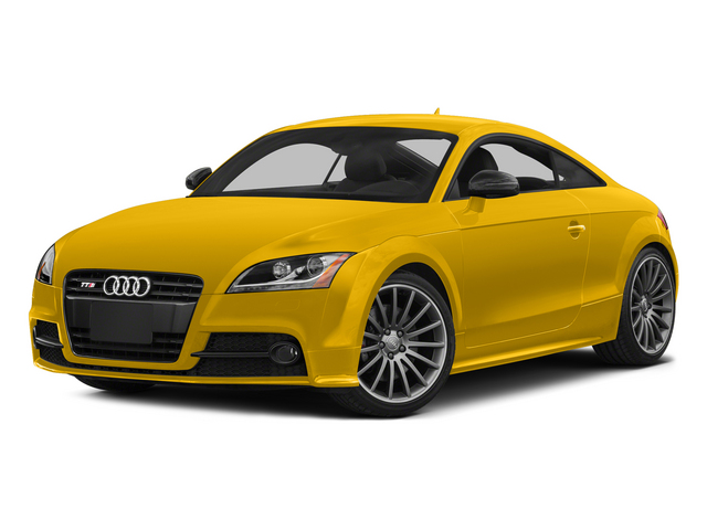 Imola Yellow 2015 Audi TTS Pictures TTS Coupe 2D AWD photos front view