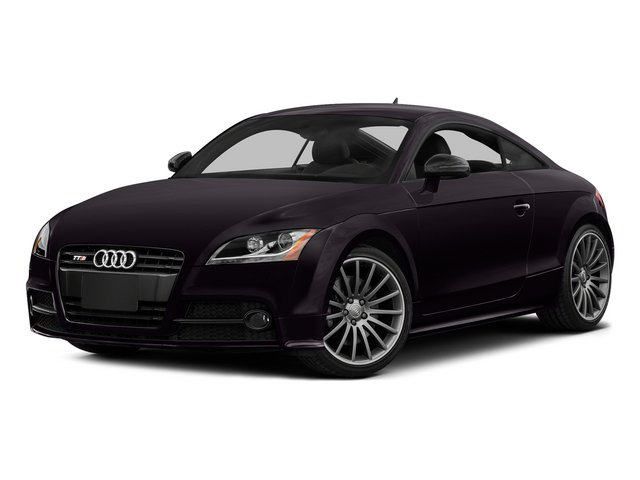 Panther Black Crystal Effect 2015 Audi TTS Pictures TTS Coupe 2D AWD photos front view