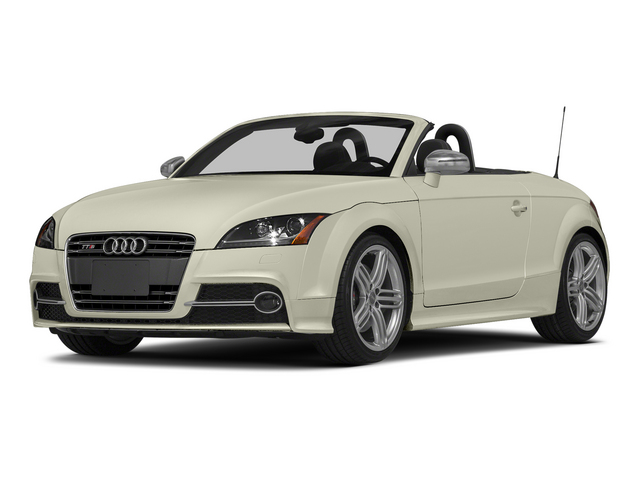 Glacier White Metallic/Black Roof 2015 Audi TTS Pictures TTS Roadster 2D AWD photos front view