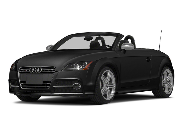 Brilliant Black/Black Roof 2015 Audi TTS Pictures TTS Roadster 2D AWD photos front view