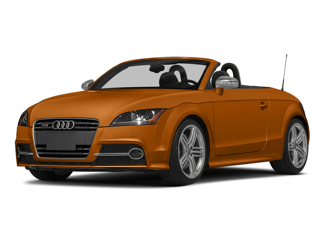 Samoa Orange Metallic/Black Roof 2015 Audi TTS Pictures TTS Roadster 2D AWD photos front view