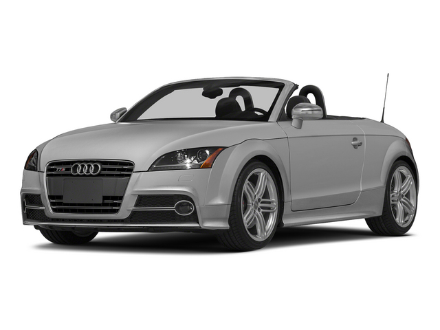 Ice Silver Metallic/Black Roof 2015 Audi TTS Pictures TTS Roadster 2D AWD photos front view