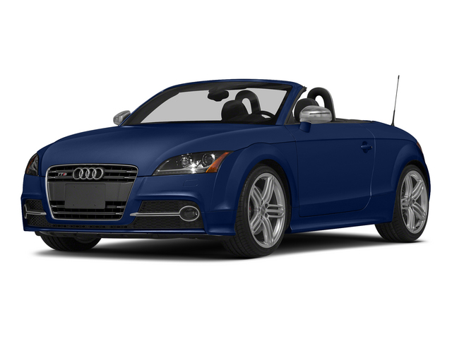 Scuba Blue Metallic/Black Roof 2015 Audi TTS Pictures TTS Roadster 2D AWD photos front view
