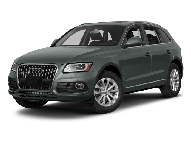 Monsoon Gray Metallic 2015 Audi Q5 Pictures Q5 Utility 4D 2.0T Premium Plus AWD photos front view
