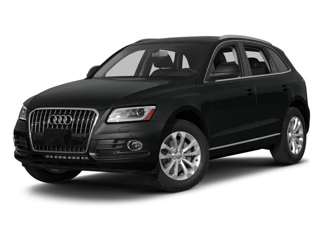 Mythos Black Metallic 2015 Audi Q5 Pictures Q5 Utility 4D 3.0T Premium Plus AWD photos front view