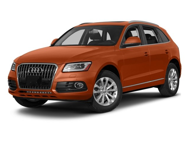 Volcano Red Metallic 2015 Audi Q5 Pictures Q5 Utility 4D 3.0T Prestige AWD photos front view