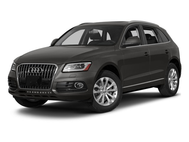 Lava Gray Pearl Effect 2015 Audi Q5 Pictures Q5 Utility 4D 2.0T Premium Plus AWD photos front view