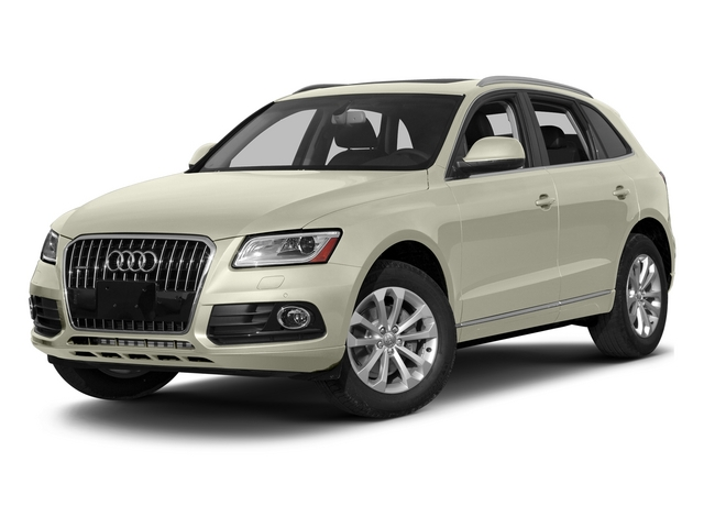 Glacier White Metallic 2015 Audi Q5 Pictures Q5 Utility 4D 3.0T Prestige AWD photos front view