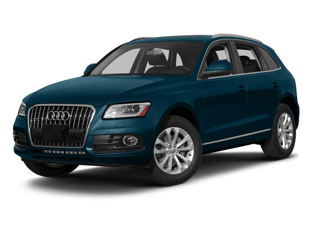 Utopia Blue Metallic 2015 Audi Q5 Pictures Q5 Utility 4D 2.0T Premium Plus AWD photos front view