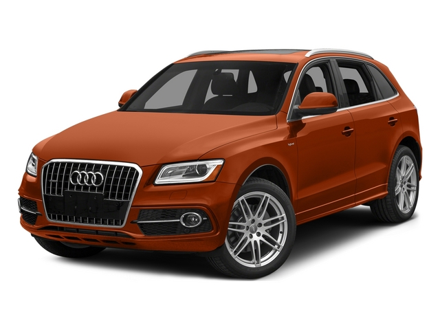 Volcano Red Metallic 2015 Audi Q5 Pictures Q5 Utility 4D 2.0T Prestige AWD Hybrid photos front view