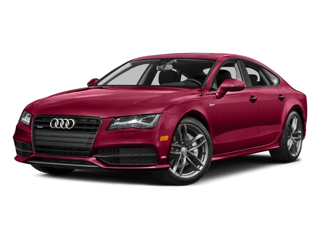 Garnet Red Pearl Effect 2015 Audi A7 Pictures A7 Sedan 4D 3.0T Premium Plus AWD photos front view