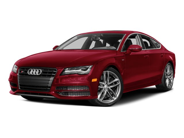 Garnet Red Pearl Effect 2015 Audi S7 Pictures S7 Sedan 4D S7 Prestige AWD photos front view