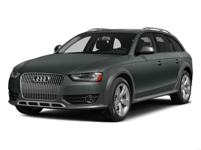 Monsoon Gray Metallic 2015 Audi allroad Pictures allroad Wagon 4D Prestige AWD I4 Turbo photos front view