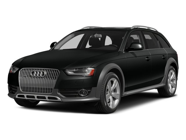 Mythos Black Metallic 2015 Audi allroad Pictures allroad Wagon 4D Prestige AWD I4 Turbo photos front view