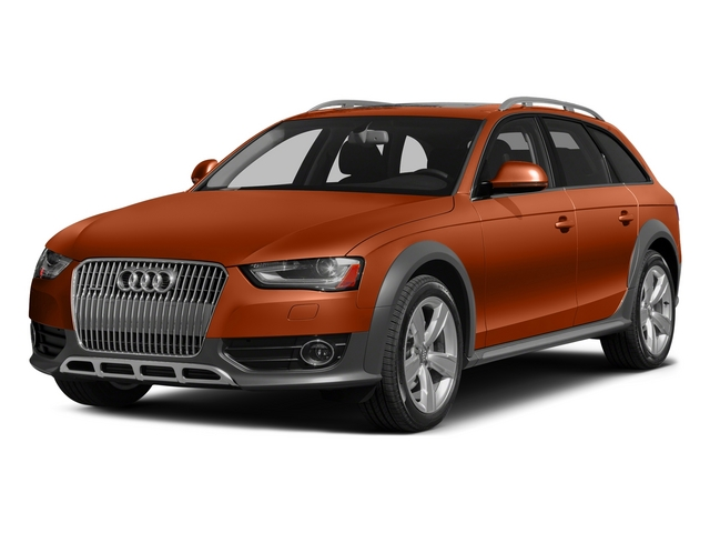 Volcano Red Metallic 2015 Audi allroad Pictures allroad Wagon 4D Prestige AWD I4 Turbo photos front view