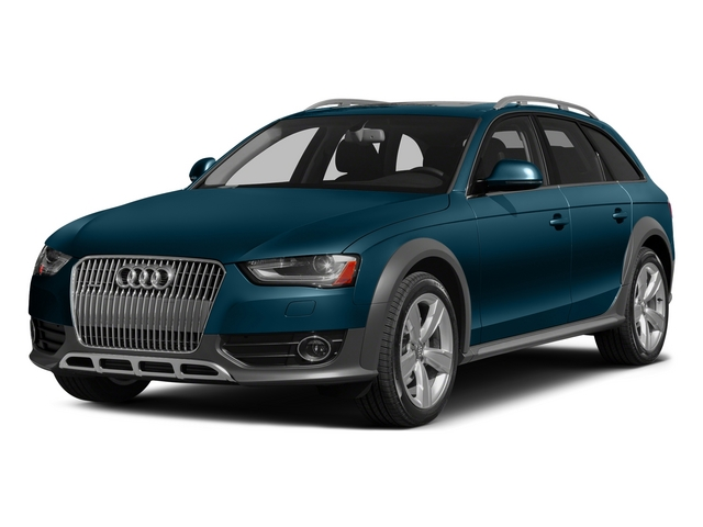 Utopia Blue Metallic 2015 Audi allroad Pictures allroad Wagon 4D Premium Plus AWD I4 Turbo photos front view