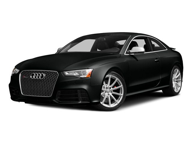 Mythos Black Metallic 2015 Audi RS 5 Pictures RS 5 Coupe 2D RS5 AWD V8 photos front view