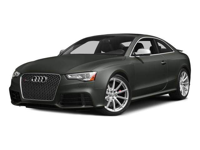 Daytona Gray Pearl Effect 2015 Audi RS 5 Pictures RS 5 Coupe 2D RS5 AWD V8 photos front view