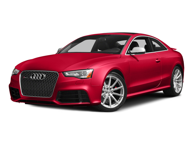 Misano Red Pearl Effect 2015 Audi RS 5 Pictures RS 5 Coupe 2D RS5 AWD V8 photos front view
